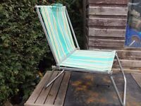 Fab retro folding camping fishing festival chair