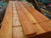 Larch planks/boards/cladding/flooring/beams