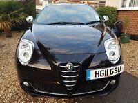 Alfa romeo mito 2011 veloce 32k milage etna black