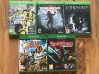 Xbox one games , as new , £10 each or £40 the lot ! Price stands , no offers !