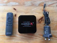 Sumvision Android TV Box Cyclone X4 Bluetooth with Sumvision Wireless Air Mouse and HDMI cable