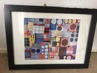 Modern art framed picture