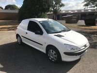 2005 Peugeot 206 1.4 hdi van only 77k 12 months mot/3 months parts and labour warranty