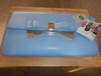 LYDC pale blue clutch/shoulder bag brand new with tags