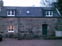 2 Bedroom Country Cottage to Rent on Private Estate near Inverurie