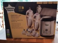 Tommee Tippee Express and Go complete breast milk starter kit