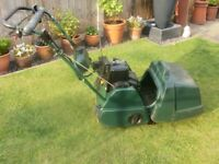 Atco Balmoral 14se electric start petrol cylinder lawn mower