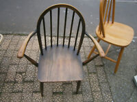 ercol carver chair single dining chair with arms