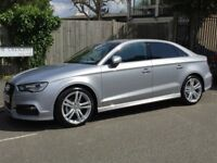 Audi A3 Saloon S line 1.4TFSi (Cylinder On Demand) 150PS S tronic in Floret silver