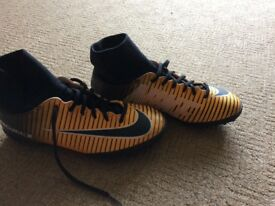Nike Mercurial Astro sock boots size 5