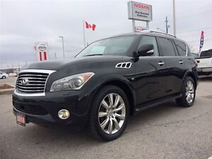 2014 Infiniti QX80 Tech Pack, NAV, TV's