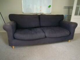 Blue Sofa - 3 seater - Free