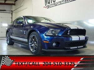 2010 Ford Mustang Shelby GT 500  16,000 Original Kms / One Owner