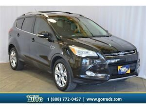 2015 Ford Escape TITANIUM/4WD/CAMERA/PANO ROOF/LEATHER