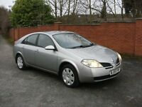 nissan primera 1.7 petrol * LPG CONVERTED** AUTOMATIC*MOT, drives very smooth open to any test