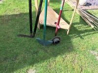 Lawn shears, edger and easy edger
