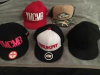 5 snap back hats