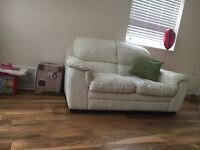 Set of leather sofas 3 Seater 2 Seater 1 seater