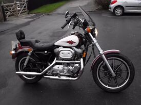 Harley Davidson 1200 sportster PX and Delivery possible