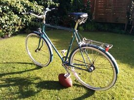 "Gents 3 speed 90's Town Bike - Raleigh ""City"" with Sturmey Archer hub - Large frame"