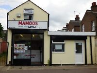 Freehold building and Takeaway business for Sale - Near Luton Football Club