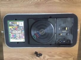 DJ Hero set and games DJ Hero 1 and 2 (Xbox 360)