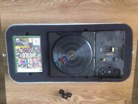 DJ Hero set and games DJ Hero 1 and 2 (Xbox 360)