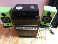 Top HiFi Cambridge Amp Aiwa Cd player and B&W Vision speakers with all Cables