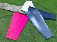 Five pairs of ladies trousers