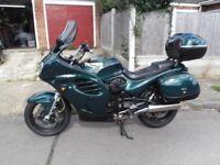 Triumph Trophy 900cc Great condition, Green metallic, gold chain,