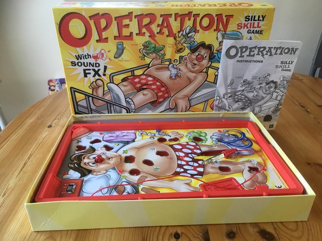 Operation Childs Game In Box With Instructions In Kings Lynn