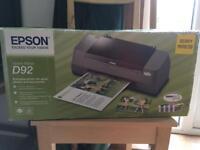 Epson Stylus D92 colour printer FREE