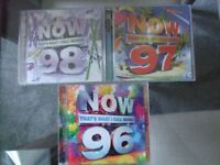 NOW THAT'S WHAT I CALL MUSIC 96, 97 & 98 - A1 condition - used once only