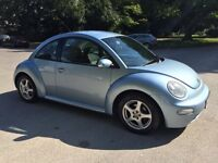 VW bEETLE 1.6 LGREAT CONDITION, 1 year full MOT, upgraded sound system, handsfree,bluetooth
