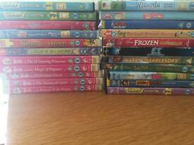70 DVDS - kids, boxsets, films, BLU rays