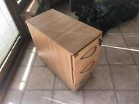 Three drawer (lockable) cabinet