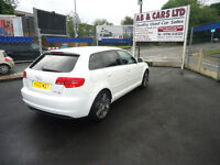 2010 AUDI A3 S LINE SP ED TDI 168 HP QUATTRO ONLY 53K MILEAGE FULL MAIN DEALER SERVICE HISTORY