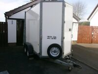 SPECIAL ORDER IFOR WILLIAMS BOX TRAILER