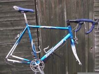 Saracen Tour Race Bike Frame And Components 7005 Aluminium