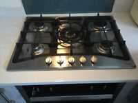 CDA Gas Hob Stainless Steel 5 ring
