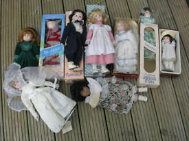 Porcelain Dolls and other see images
