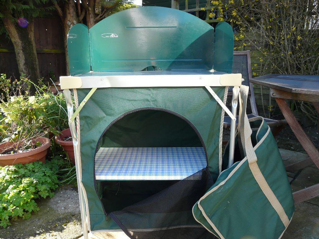 Caming kitchen - Hi Gear Camp kitchen & larder | in Stowmarket ...