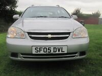 CHEVROLET LACETTI SX 1.6 PETROL 5 DOORS STATE SILVER 10 MONTHS MOT 2005 CHEAP TAX & INSURE