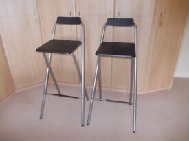 Two bar stools very good condition