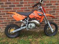 2004 KTM SX50 mini adventure for sale or swaps