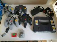 Nintendo 64, 21 games, plus extras