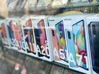 Samsung A70 Unlocked new box samsung warranty