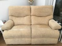 TWO SOFAS & ONE CHAIR
