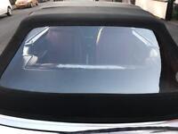 Audi 80 b4 convertible rear windscreen