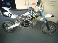 125cc lifan pit bike/pitbike not quad ktm crf stomp 140